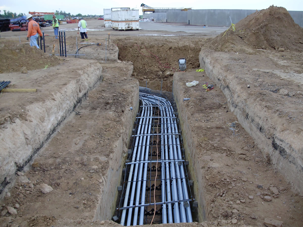 how to run water lines underground